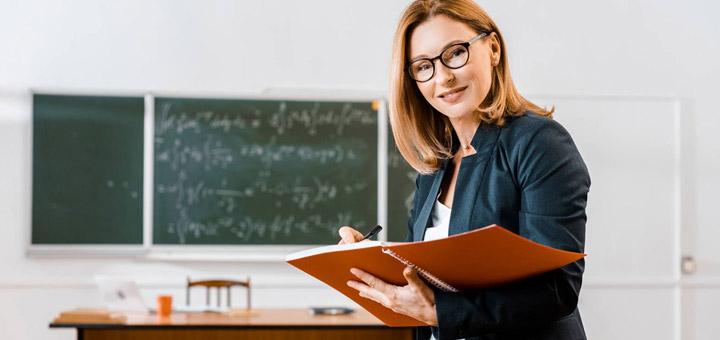 Salón clase profesora